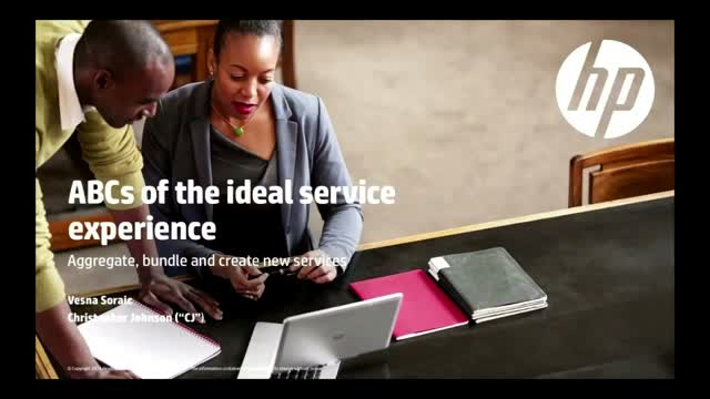 ABCs of the Ideal Service Experience: Aggregate, bundle and create new services
