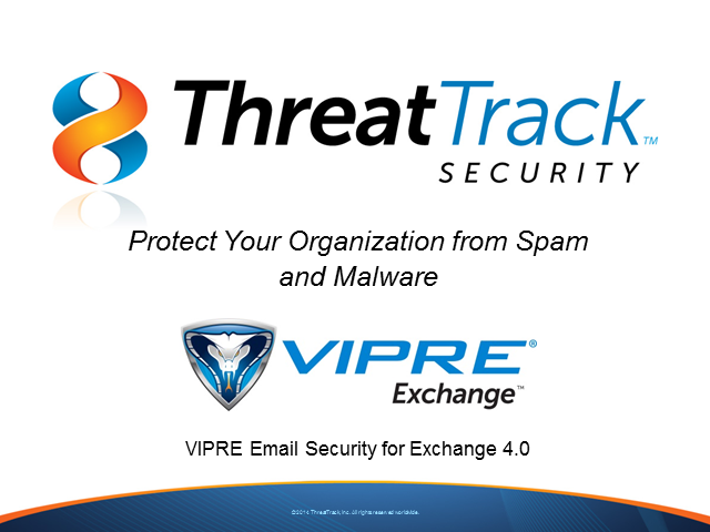 Protect Your Organization from Spam and Malware with VIPRE for Exchange