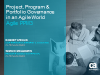 Project, Program and Portfolio Governance in an Agile World