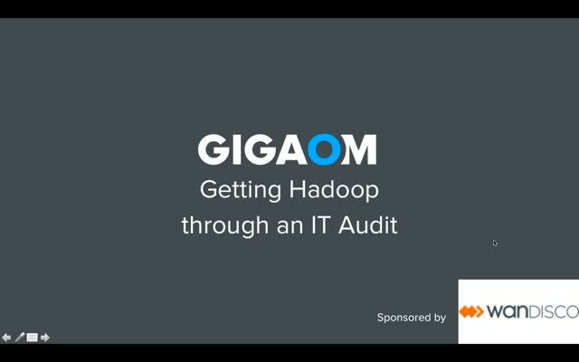 Getting Hadoop through an IT Audit