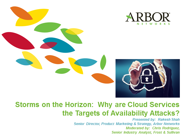 Storms on the Horizon: Why are Cloud Services Targets of Availability Attacks?