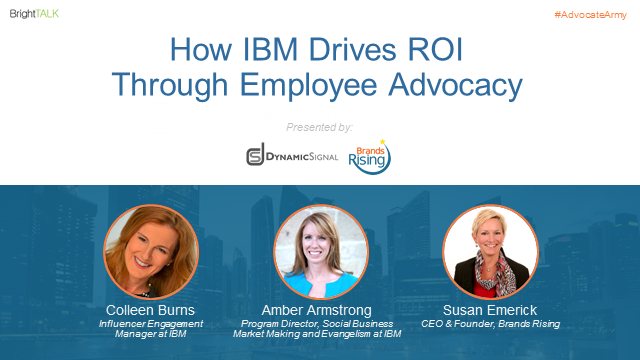 How IBM Drives ROI Through Employee Advocacy
