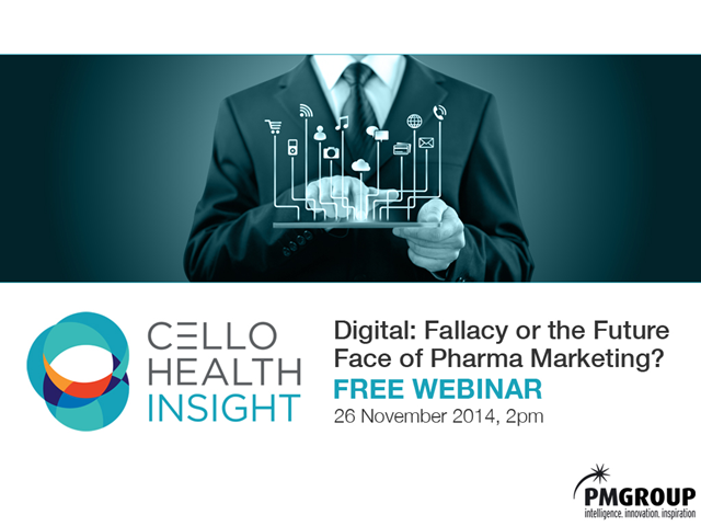 Digital: Fallacy… Or the Future Face of Pharma Marketing?