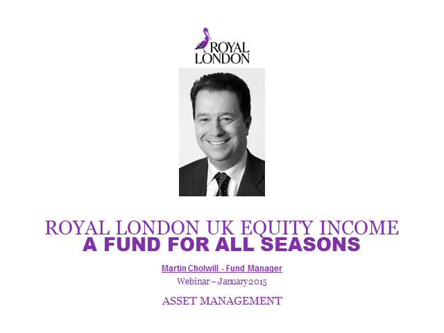 Royal London UK Equity Income Fund Webinar