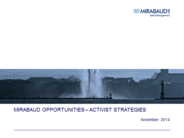 Mirabaud AM - New Strategy