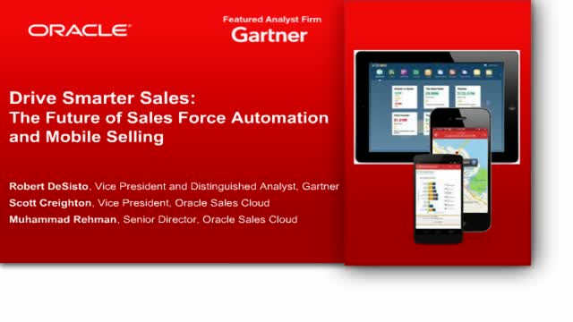 Gartner Webcast: The Power of Mobile Selling