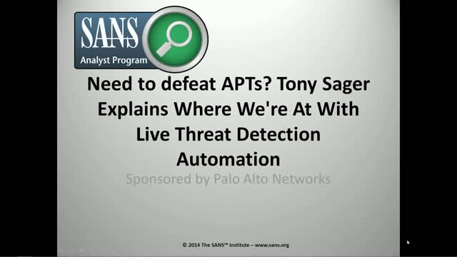 Defeating APTs: How To Use Live Threat Detection