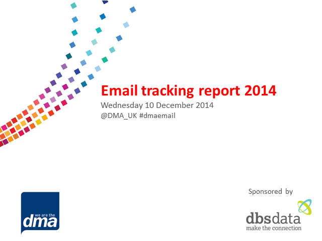 Email tracking study 2014
