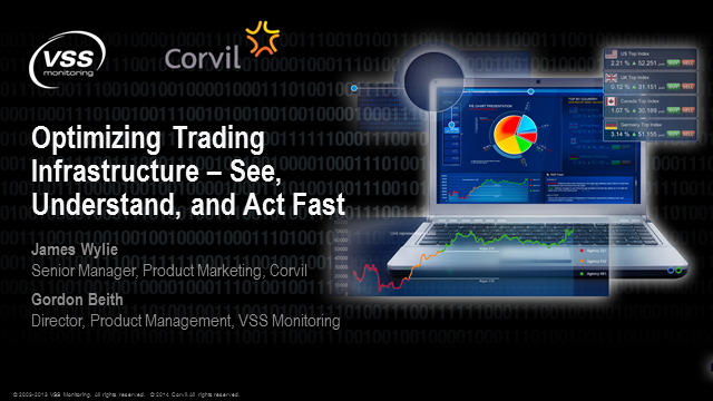 Optimize your trading infrastructure - See, understand and act fast