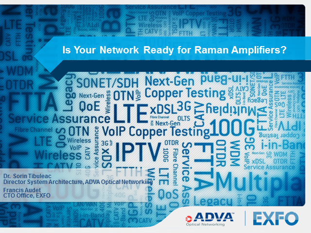 Is your network ready for Raman amplifiers?