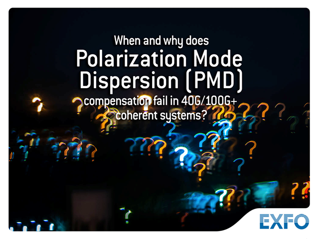 When and why does polarization mode dispersion (PMD) compensation fail in?