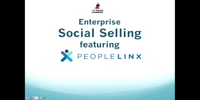 A System for Corporate Social Selling featuring PeopleLinx