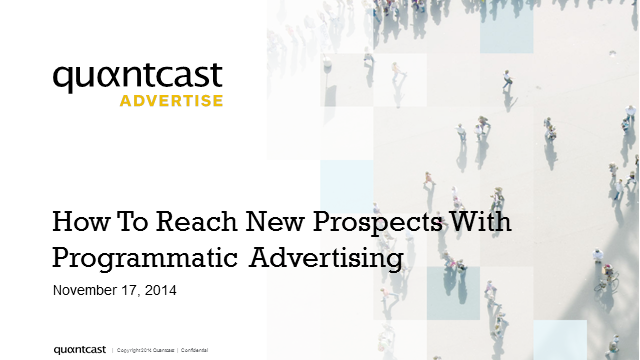 How to Reach New Prospects with Programmatic Advertising