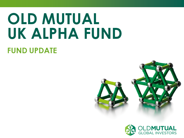 Old Mutual UK Alpha Fund monthly update with Richard Buxton