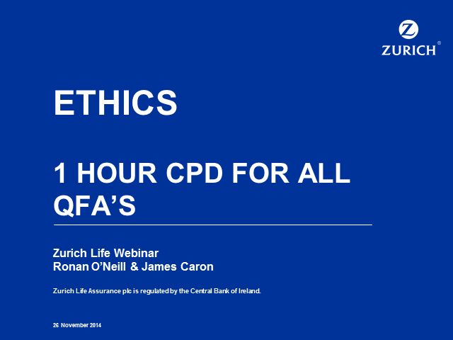 Ethics - CPD Annual Requirement