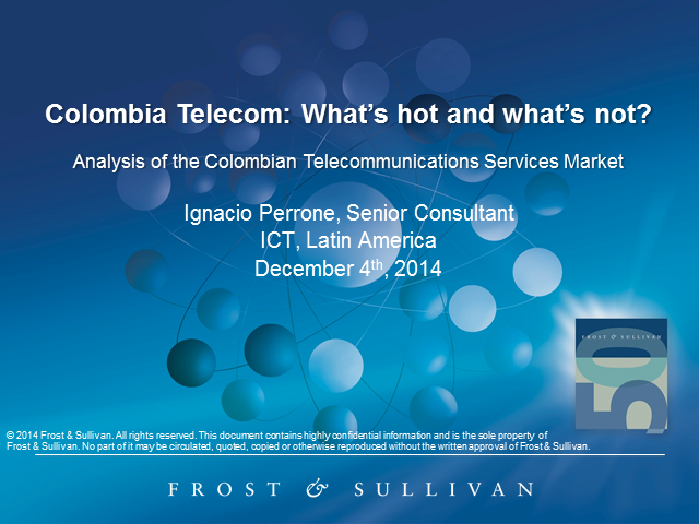 Colombia Telecommunications: What's Hot and What's Not?
