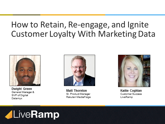 How to Retain, Reengage, and Ignite Customer Loyalty with Marketing Data