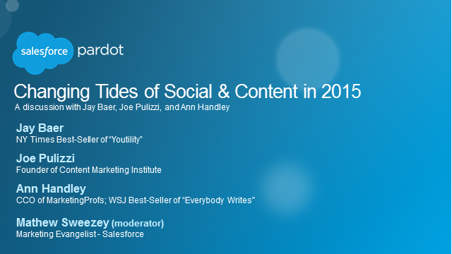 Changing Tides of Social & Content in 2015