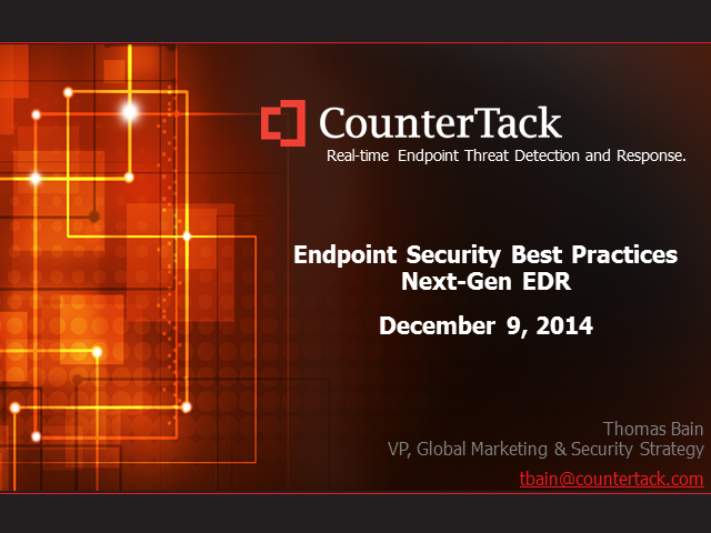 Avoid the Headlines: Best Practices for Securing the Endpoint