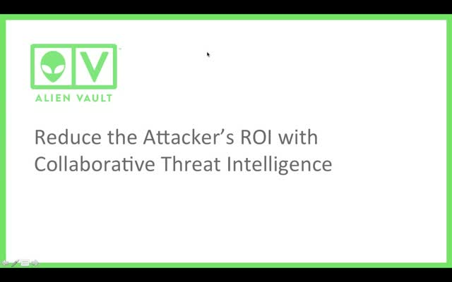 Reduce the Attacker's ROI with Collaborative Threat Intelligence