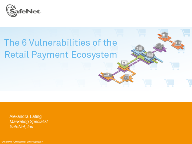 The 6 Vulnerabilities of the Retail Payment Ecosystem