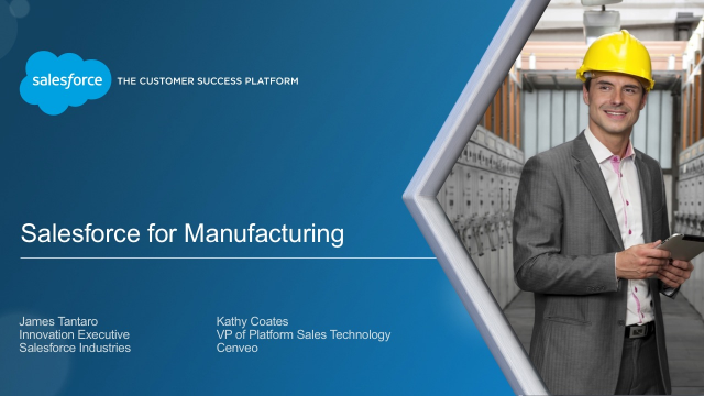 Salesforce CRM for Manufacturing