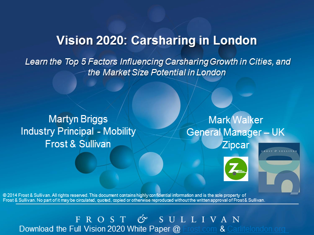 Vision 2020: Carsharing in London