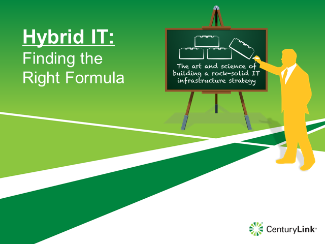 Hybrid IT: Finding the right formula