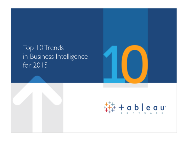 Top 10 Business Intelligence Trends for 2015