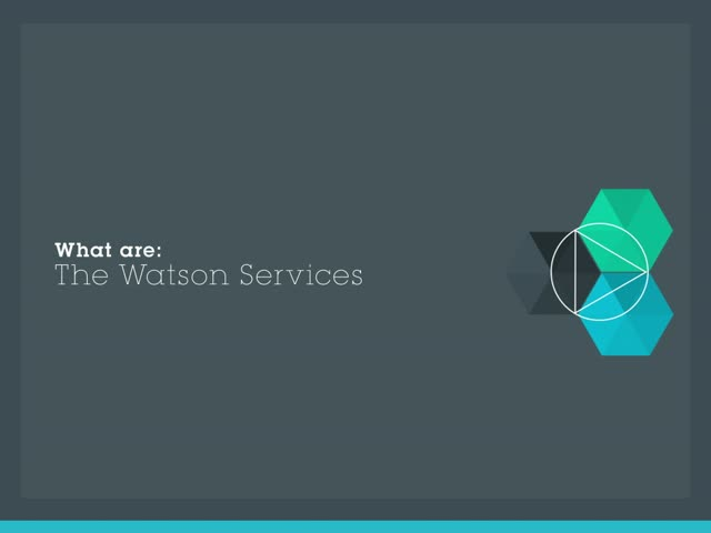 Watson is Available Today on Bluemix