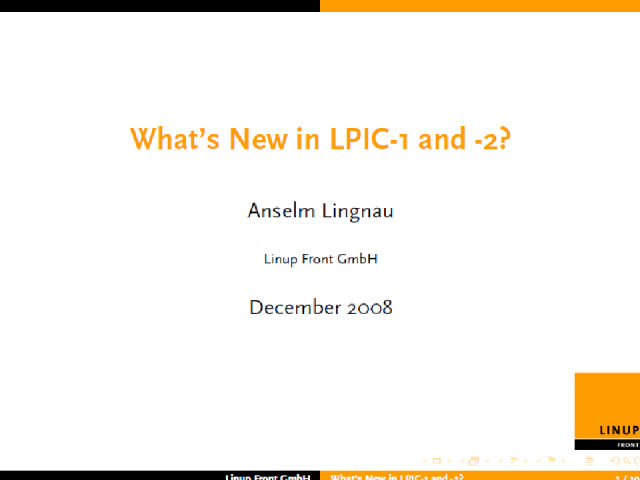 What's New In LPIC-1 and LPIC-2?