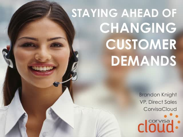 Staying Ahead of Changing Customer Demands