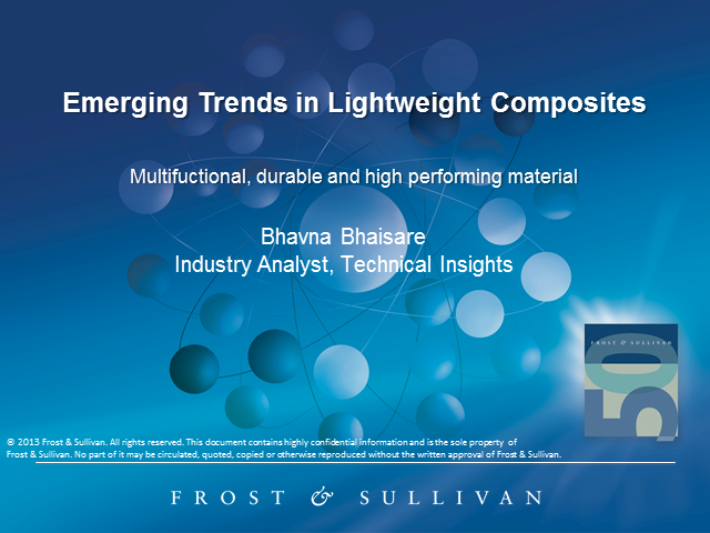 Lightweight Composites: Dynamic Forces Affect Full-scale Adoption