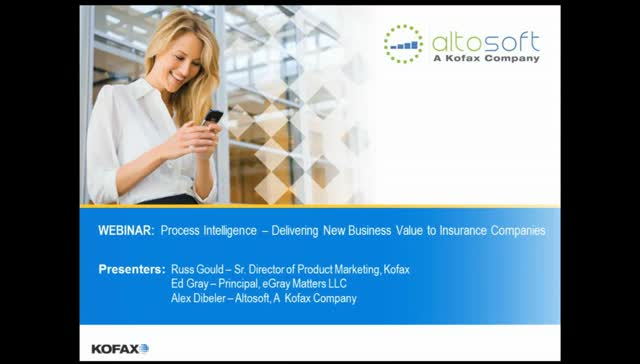 Process Intelligence: Delivering New Business Value for Insurance Companies