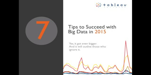 7 Tips to Succeed with Big Data in 2015