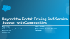 Beyond the Portal: MedAssets Drives Self-Service Support with Communities