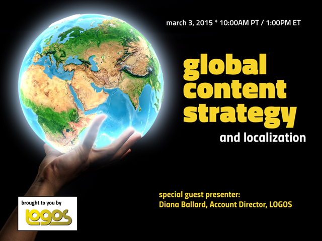 Global Content Strategy and Localization
