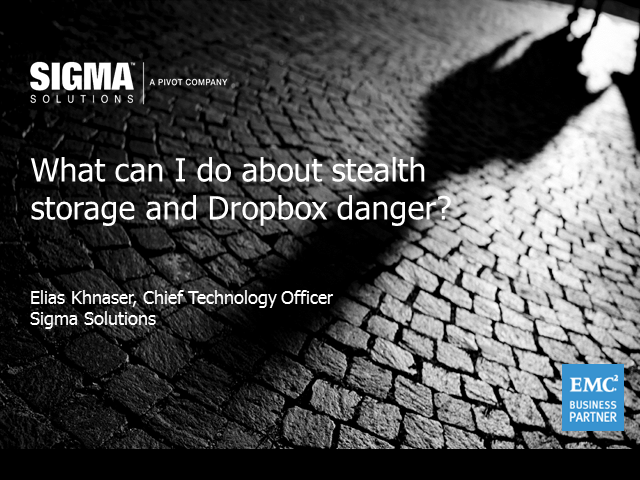 The Danger of Dropbox - Cloud Storage Without the Risk