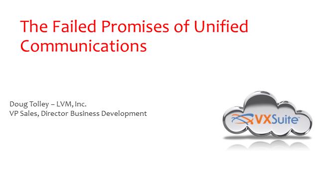 The Failed Promises of Unified Communications