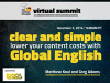 Clear and Simple: Lower Your Content Costs with Global English