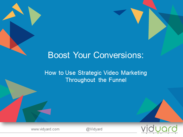 Boost Your Conversions: How to Use Strategic Video Marketing in the Funnel