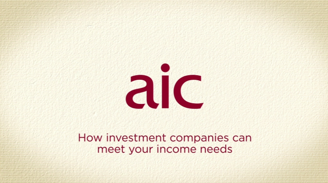 How investment companies can meet your income needs