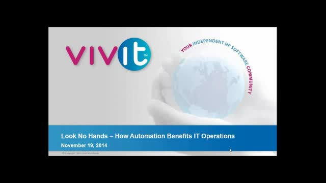 Look No Hands – How Automation Benefits IT Operations