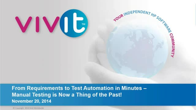 From Requirements to Test Automation in Minutes – Manual Testing is Now a Thing