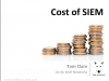 Cost of SIEM