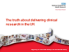 The truth about delivering clinical research in the UK