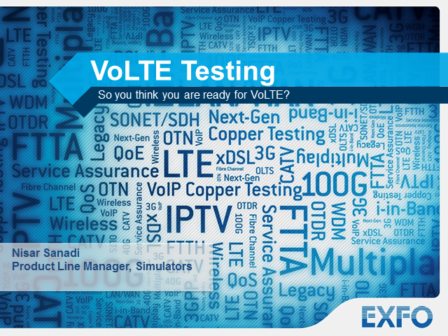 So You Think You're Ready for VoLTE?