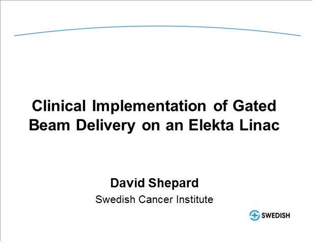 Clinical implementation of gated beam delivery on an Elekta linac