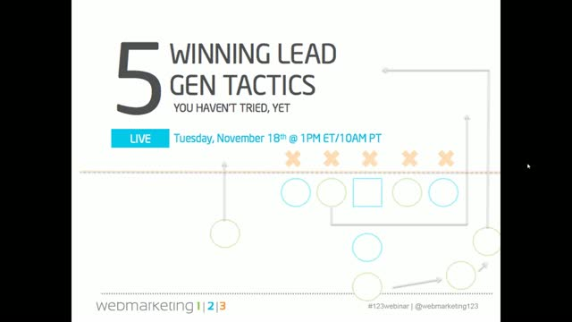 5 Winning Lead Gen Tactics You Haven't Tried, Yet