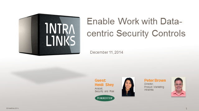 Industry study: How data-centric security controls enable productivity